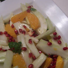 Fennel, Blood Orange and Pomegrant Spring Salad