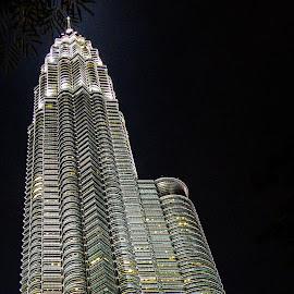 Petronas by Ram Ramkumar - Novices Only Objects & Still Life ( petronas twin towers, skyscraper, towers, petronas towers, kuala lumpur,  )
