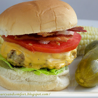 Bacon Chicken Cheeseburger
