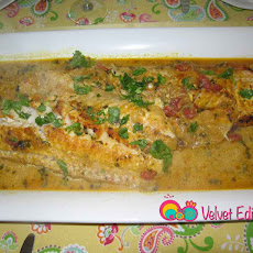 Fish in Curried Tomato Sauce
