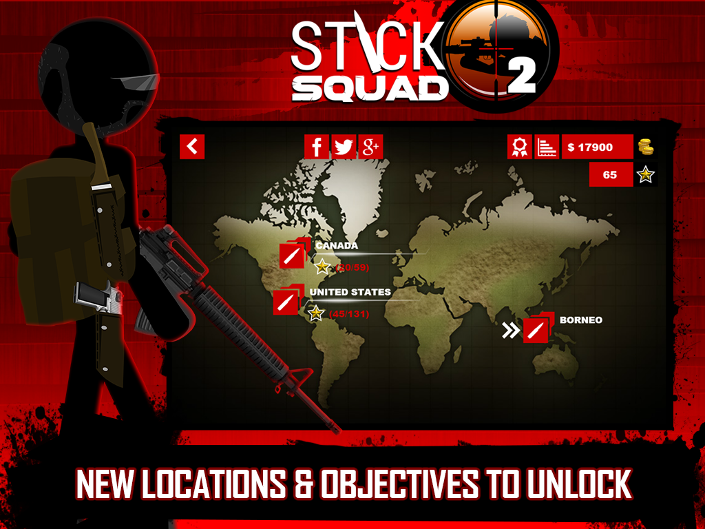 Stick Squad 2 - Shooting Elite Screenshot 14