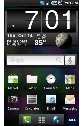 ADW Theme: Froyo Black Icons