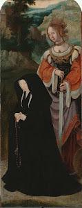 RIJKS: attributed to Aertgen Claesz. van Leyden: The Raising of Lazarus 1535