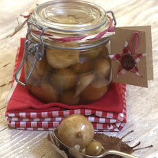 Spiced Pickled Onions & Peppers
