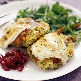 Goat's Cheese, Herb & Lemon Patties
