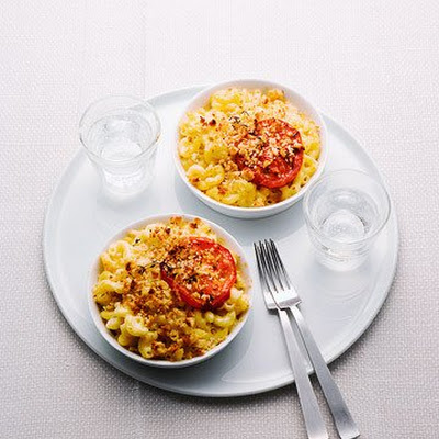 Lighter Macaroni and Cheese