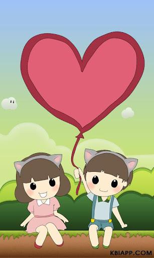 딸콩 캐릭터 디데이 기념일 애니메이션 커플
