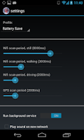 Screenshot of WiFi Track