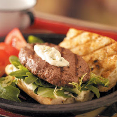French Tarragon Burgers