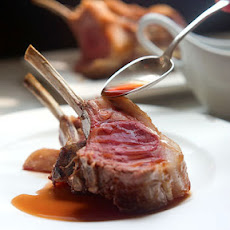 Roast Rack of Lamb with Natural Jus
