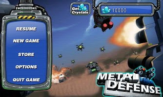 Screenshot of Metal Defense