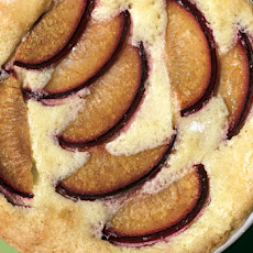 Brandied Plum Clafoutis