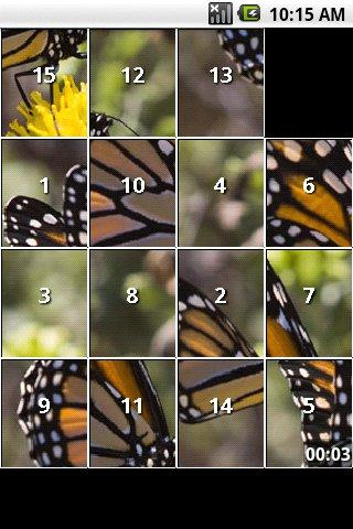 iSlider Butterfly Puzzles