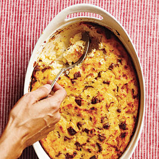 Sausage and Polenta Breakfast Casserole