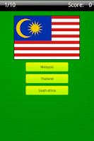 Screenshot of Identify the World Flags Game