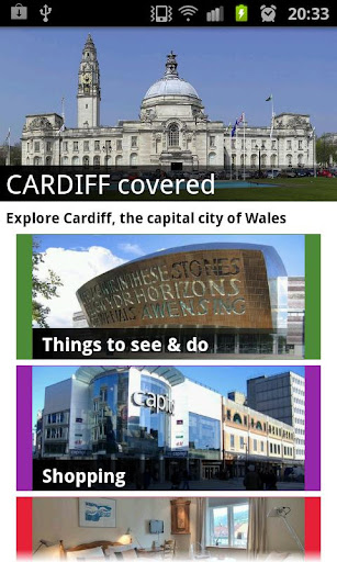 【免費旅遊App】Cardiff Covered-APP點子