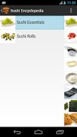 Screenshot of Sushi Encyclopedia