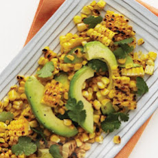 Corn, Avocado, and Cilantro