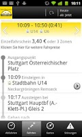 Screenshot of Bus&Bahn