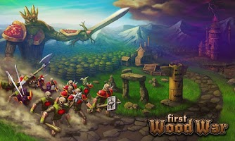 Screenshot of First Wood War - Рубилово!