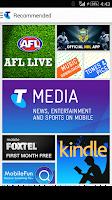 Screenshot of Telstra