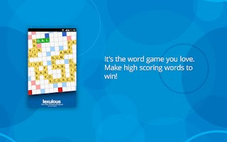 Screenshot of Lexulous Word Game