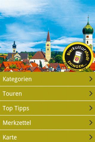 【免費旅遊App】Bierkulturstadt Ehingen-APP點子