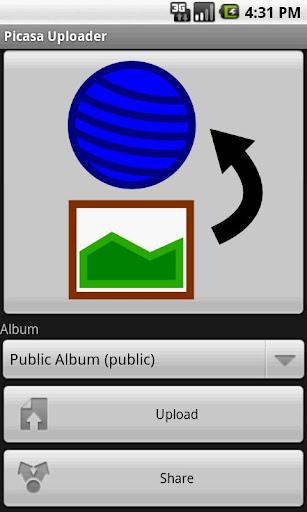 Picasa アップローダー twicca対応