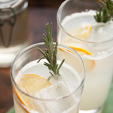 Meyer Lemon Rosemary Gin Fizz