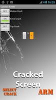 Screenshot of Cracked Screen
