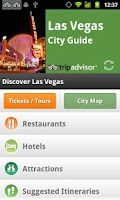 Screenshot of Las Vegas City Guide