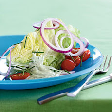 Iceberg Wedge with Buttermilk-Herb Dressing
