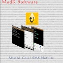 MadK Missed Call/SMS Notifier icon