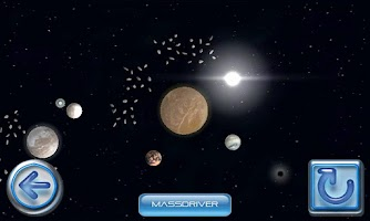 Screenshot of Galactic Snooker