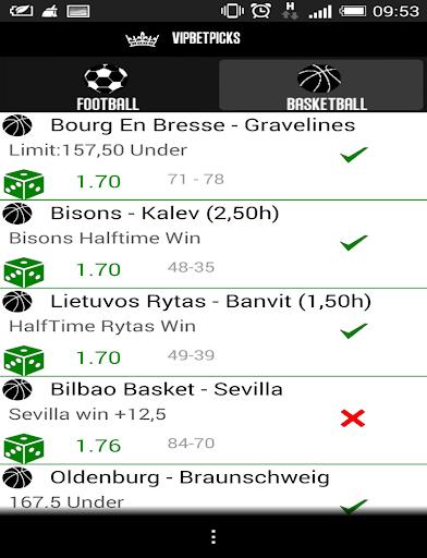 VIP BETTING Tips Predictions - screenshot