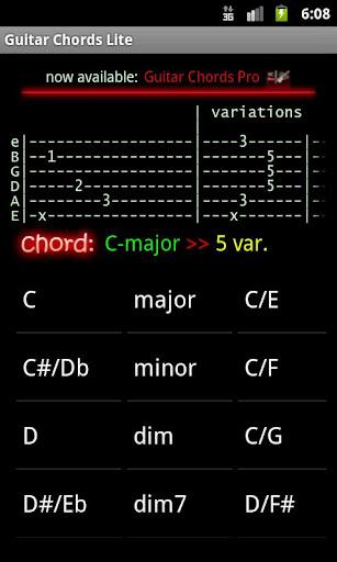 Guitar Chords Lite