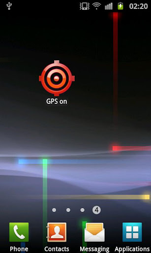 Widget GPS