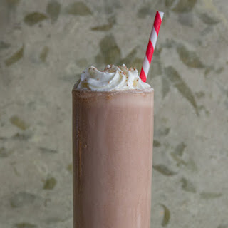 Spicy Chocolate Pumpkin Milkshake
