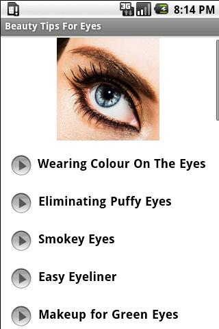 Beauty Tips For The Eyes