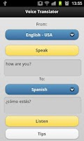 Screenshot of Voice Translator Free