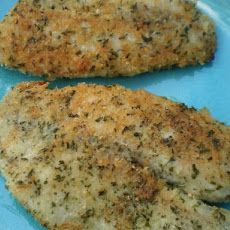 Panko Encrusted Tilapia Fillets