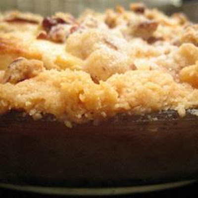 Warm Apple Cinnamon Cobbler