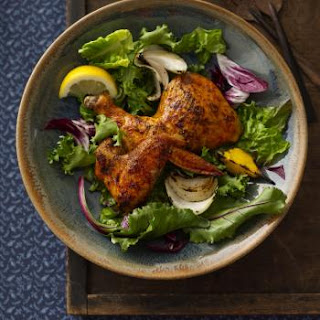 Smoky Chicken & Grilled Veggie Salad