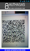 Screenshot of Authasas Smart Authenticator