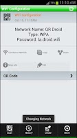 Screenshot of QR-WiFi Plugin™