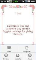Screenshot of Valentine's Day Fun Facts