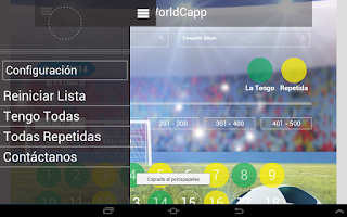 Screenshot of World Capp - album