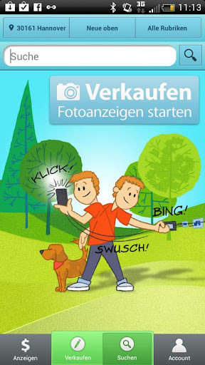 smazaar-kleinanzeigen for android screenshot