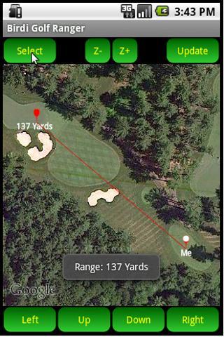 Birdi Golf Range Finder