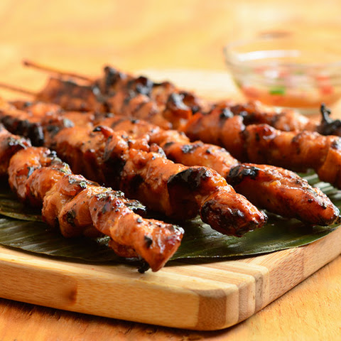 Sweet Mango Barbecue Chicken Skewers
